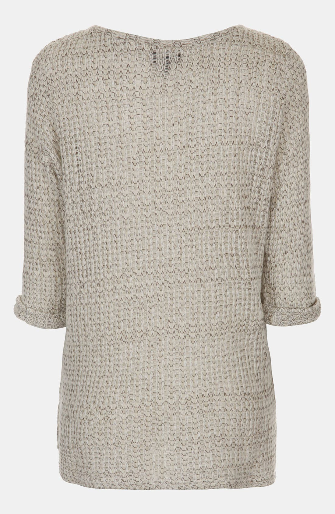 Alternate Image 2  - Topshop Maternity Fisherman Sweater