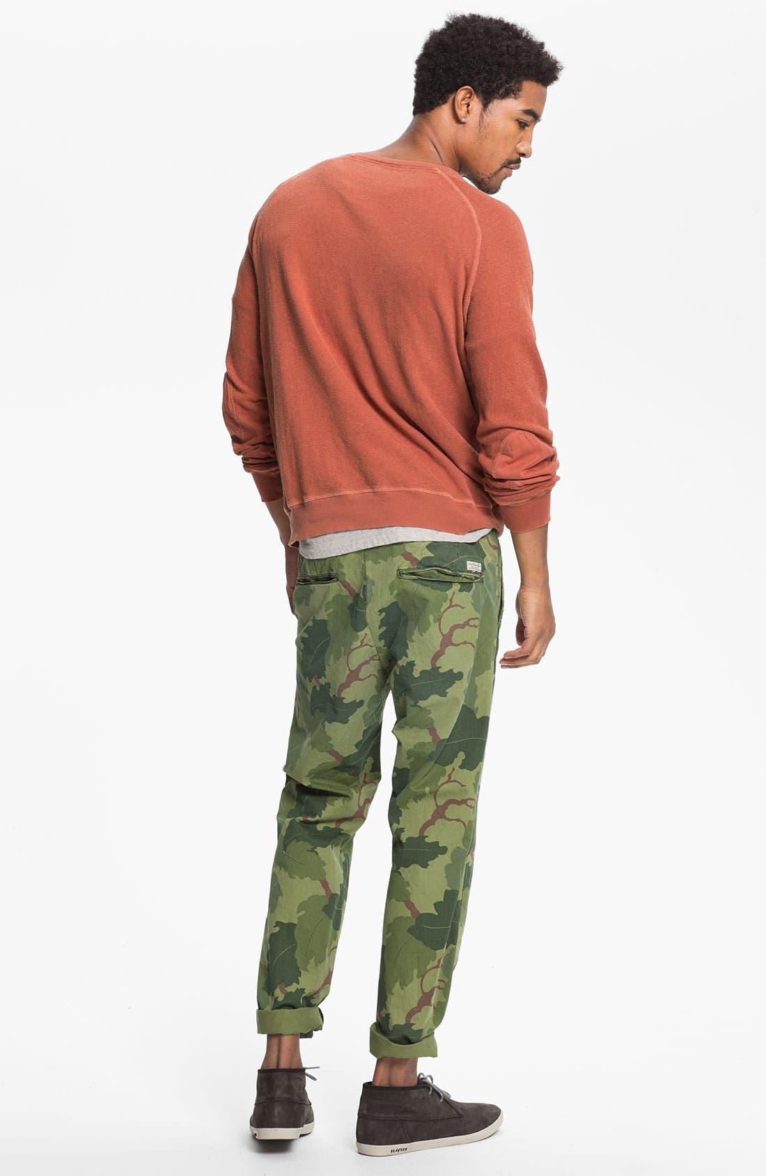 Alternate Image 5  - Scotch & Soda 'Bowie' Camo Print Slim Straight Leg Chinos