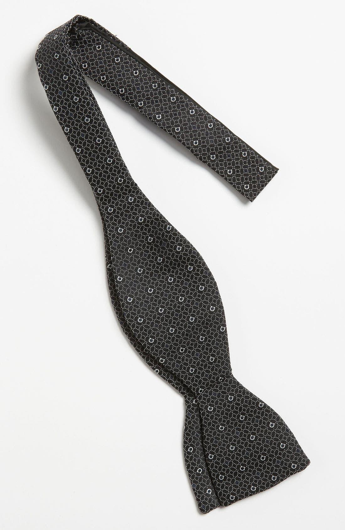 Alternate Image 2  - Salvatore Ferragamo Silk Bow Tie