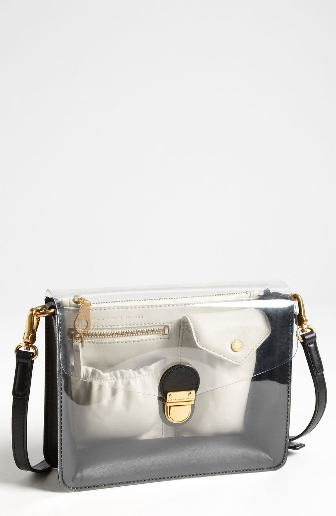 Main Image - MARC BY MARC JACOBS 'Clearly Colorblocked' Crossbody Bag