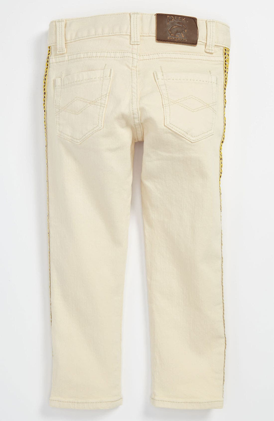 Alternate Image 1 Selected - Peek 'Nicole' Jeans (Toddler, Little Girls & Big Girls)