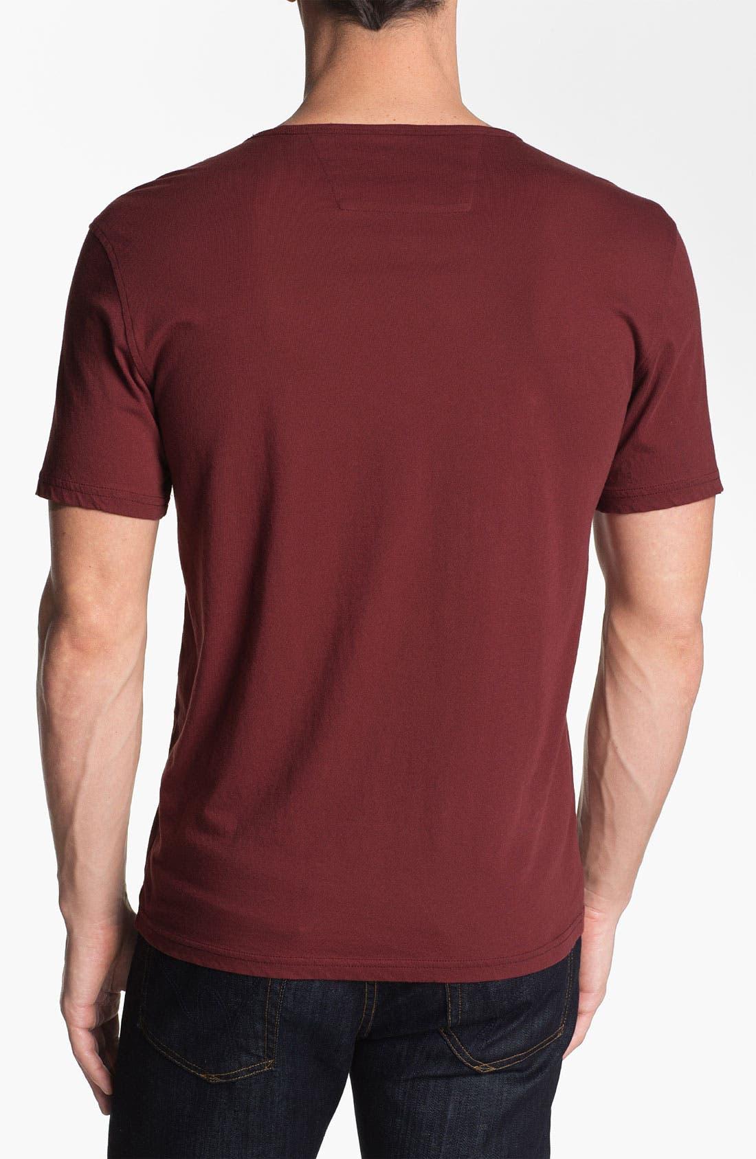 Alternate Image 2  - John Varvatos Star USA 'Painted Peace Sign' Graphic T-Shirt
