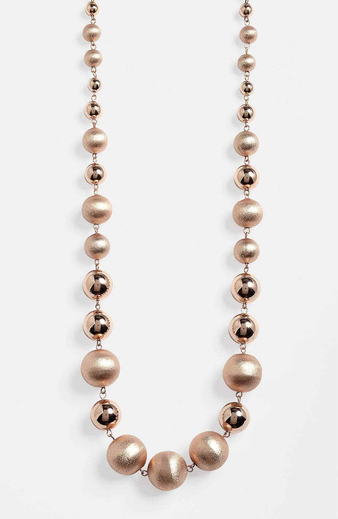 Main Image - Nordstrom 'Pebble Beach' Long Beaded Necklace