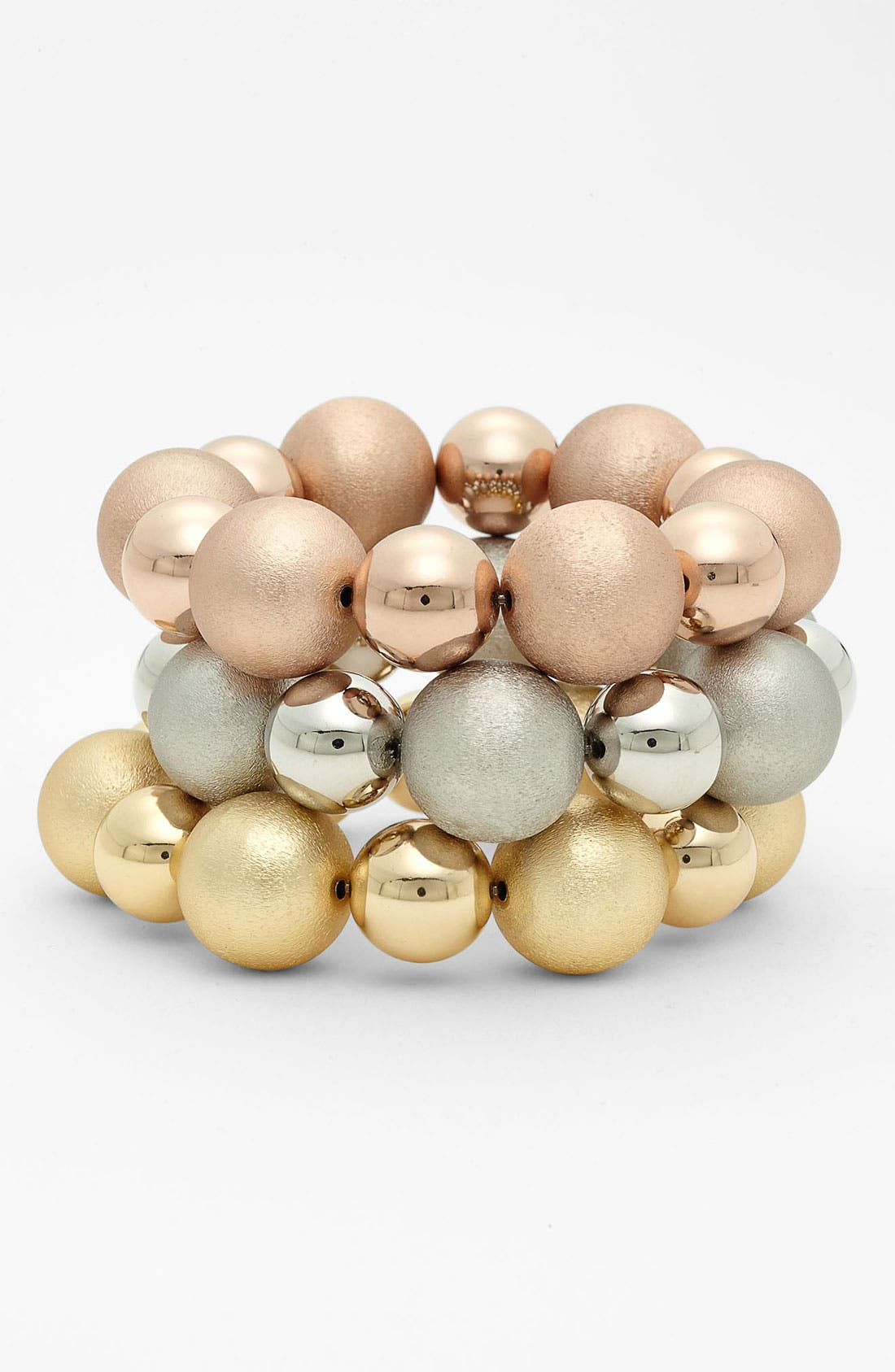 Main Image - Nordstrom 'Pebble Beach' Large Stretch Bracelet