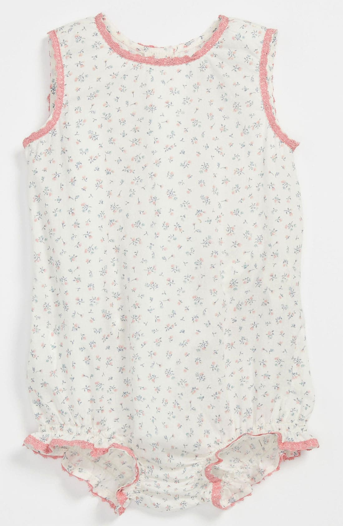 Alternate Image 1 Selected - United Colors of Benetton Kids Woven Bodysuit (Baby)