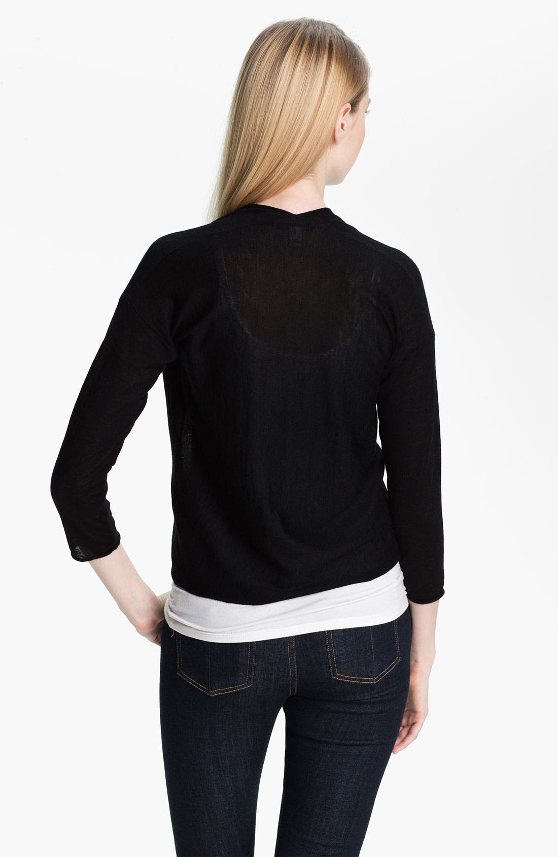 Alternate Image 3  - autumn cashmere Crop Cardigan