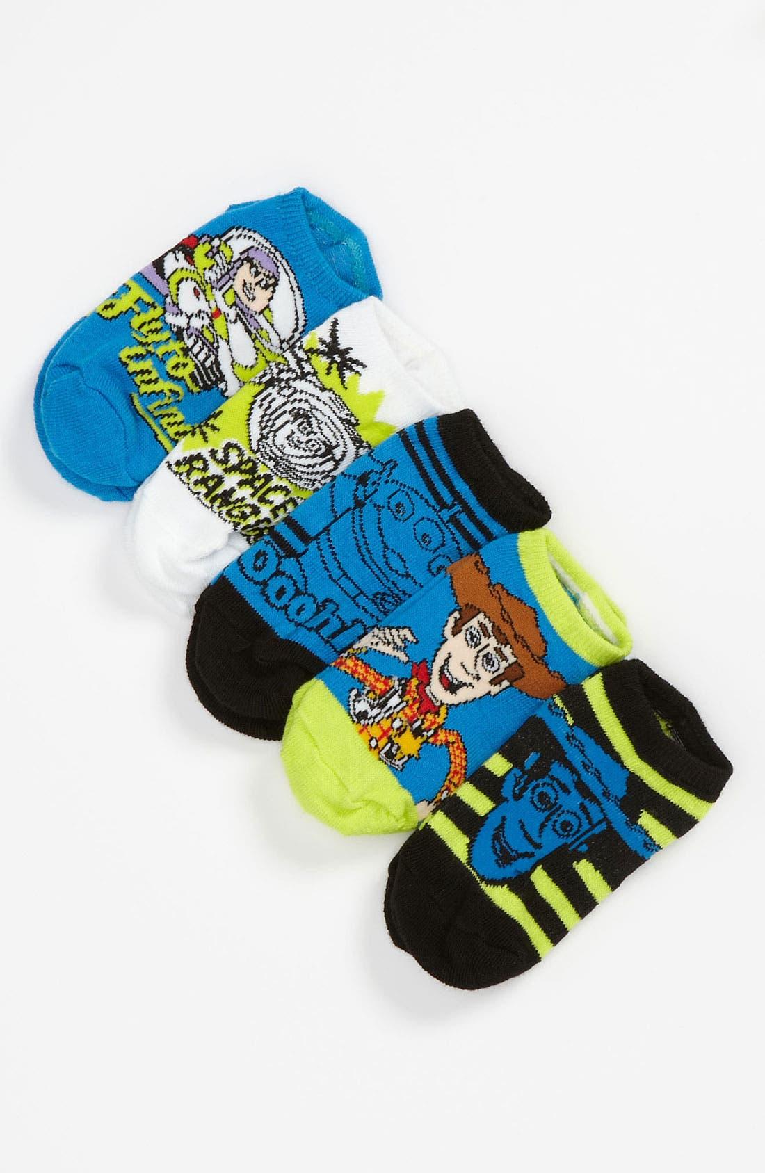 Alternate Image 1 Selected - Disney 'Toy Story®' Print Socks (5-Pack) (Walker & Toddler)