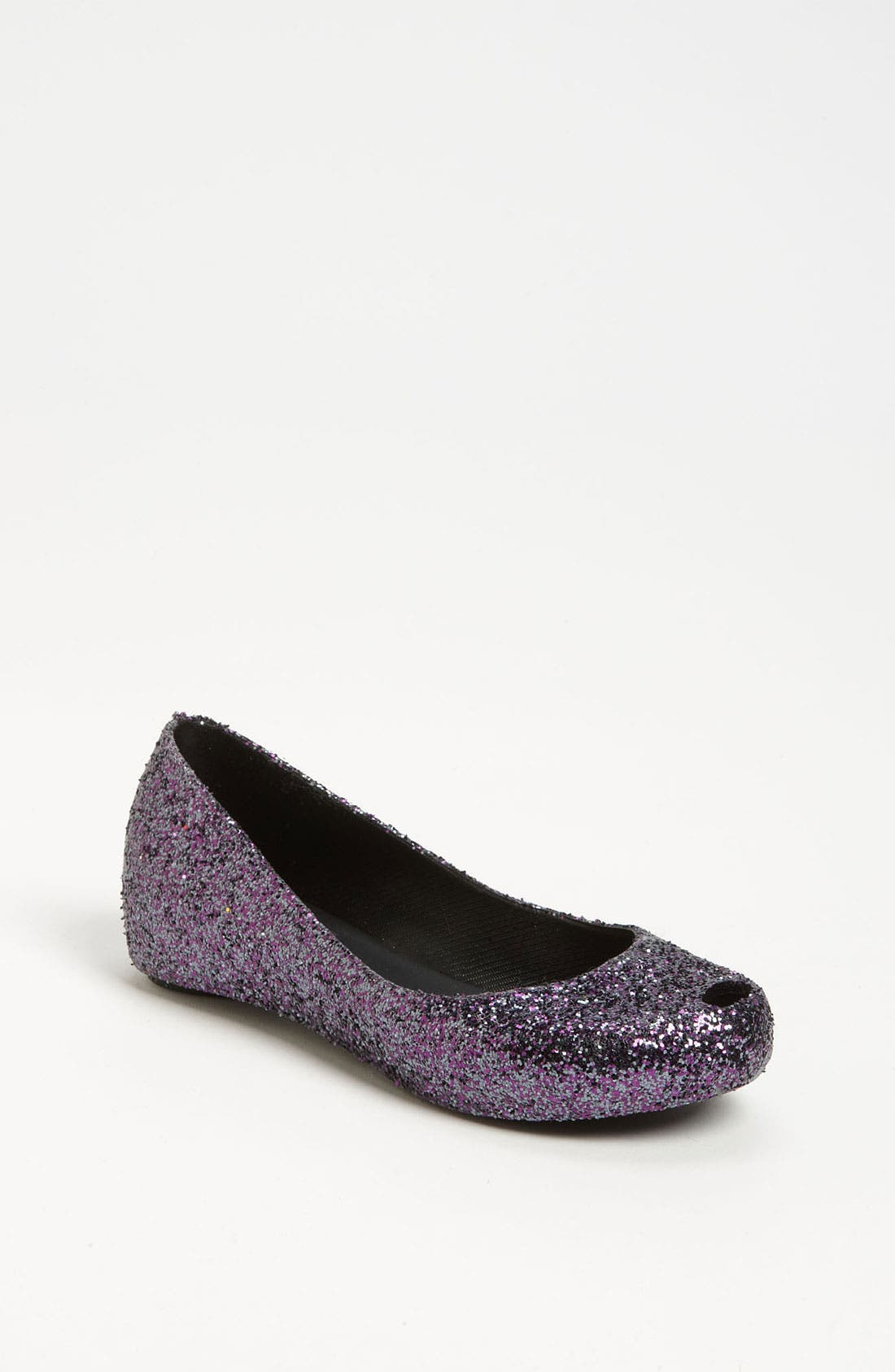 Main Image - Mini Melissa 'Ultragirl Glitter' Flat (Toddler & Little Kid)