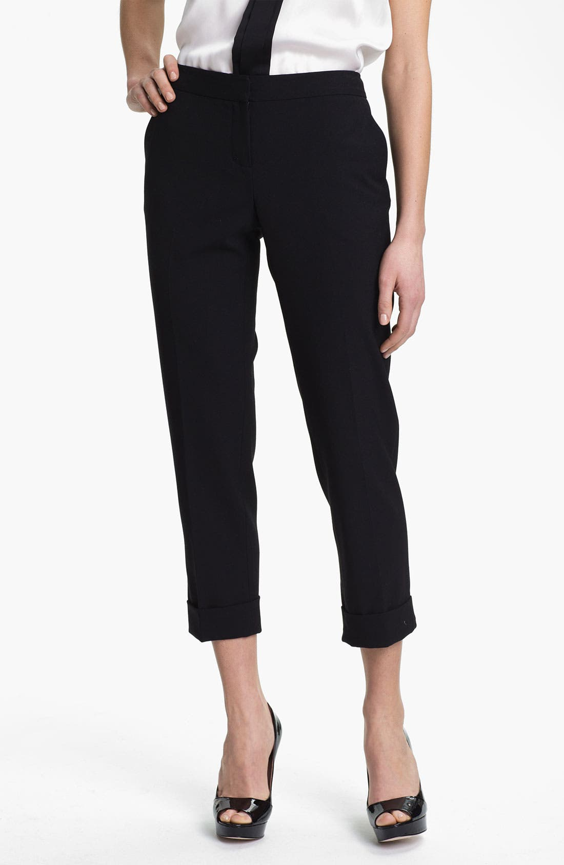 Alternate Image 5  - Vince Camuto Cuff Ankle Pants