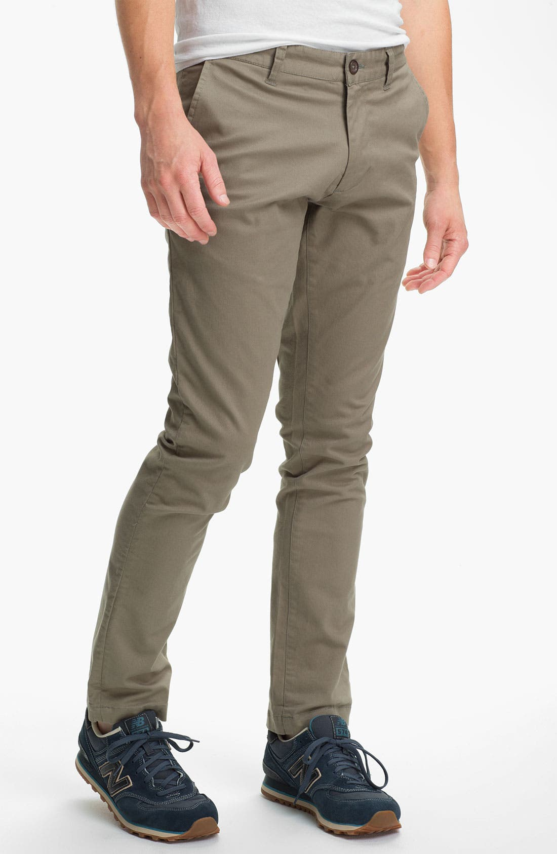Alternate Image 1 Selected - Obey 'Layover' Slim Straight Leg Chinos