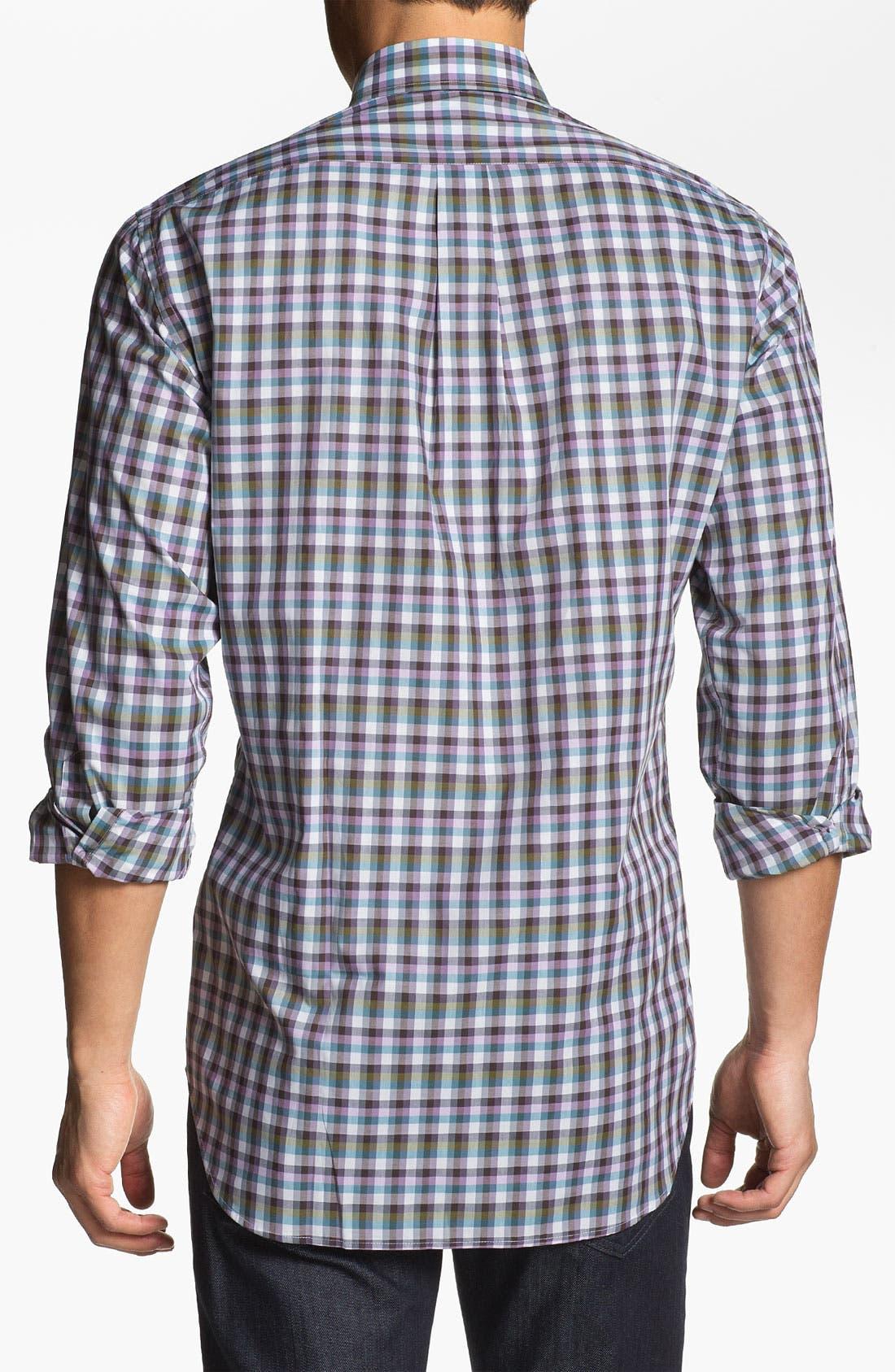 Alternate Image 2  - Peter Millar 'Capri' Regular Fit Sport Shirt (Tall)
