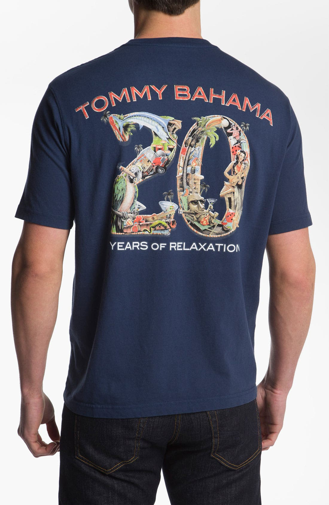 Alternate Image 1 Selected - Tommy Bahama '20 Years of Relaxation' Cotton T-Shirt