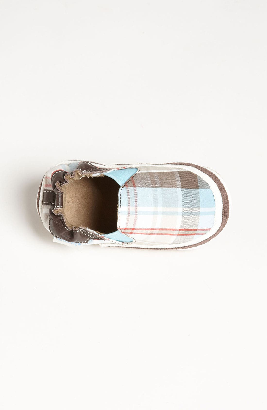 Alternate Image 3  - Robeez® 'Day Out' Crib Shoe (Baby & Walker)