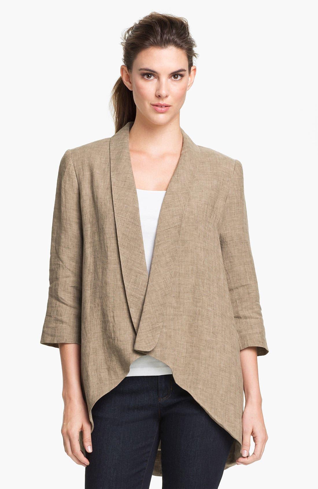 Alternate Image 1 Selected - Alberto Makali Linen Jacket
