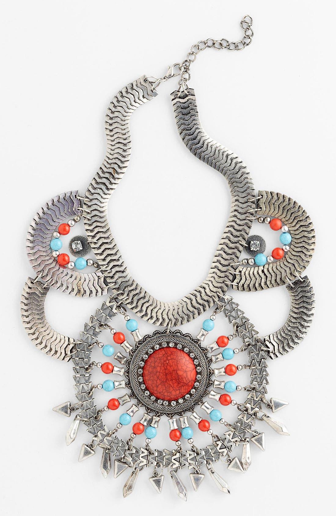 Main Image - Guinevere 'Maya' Statement Necklace