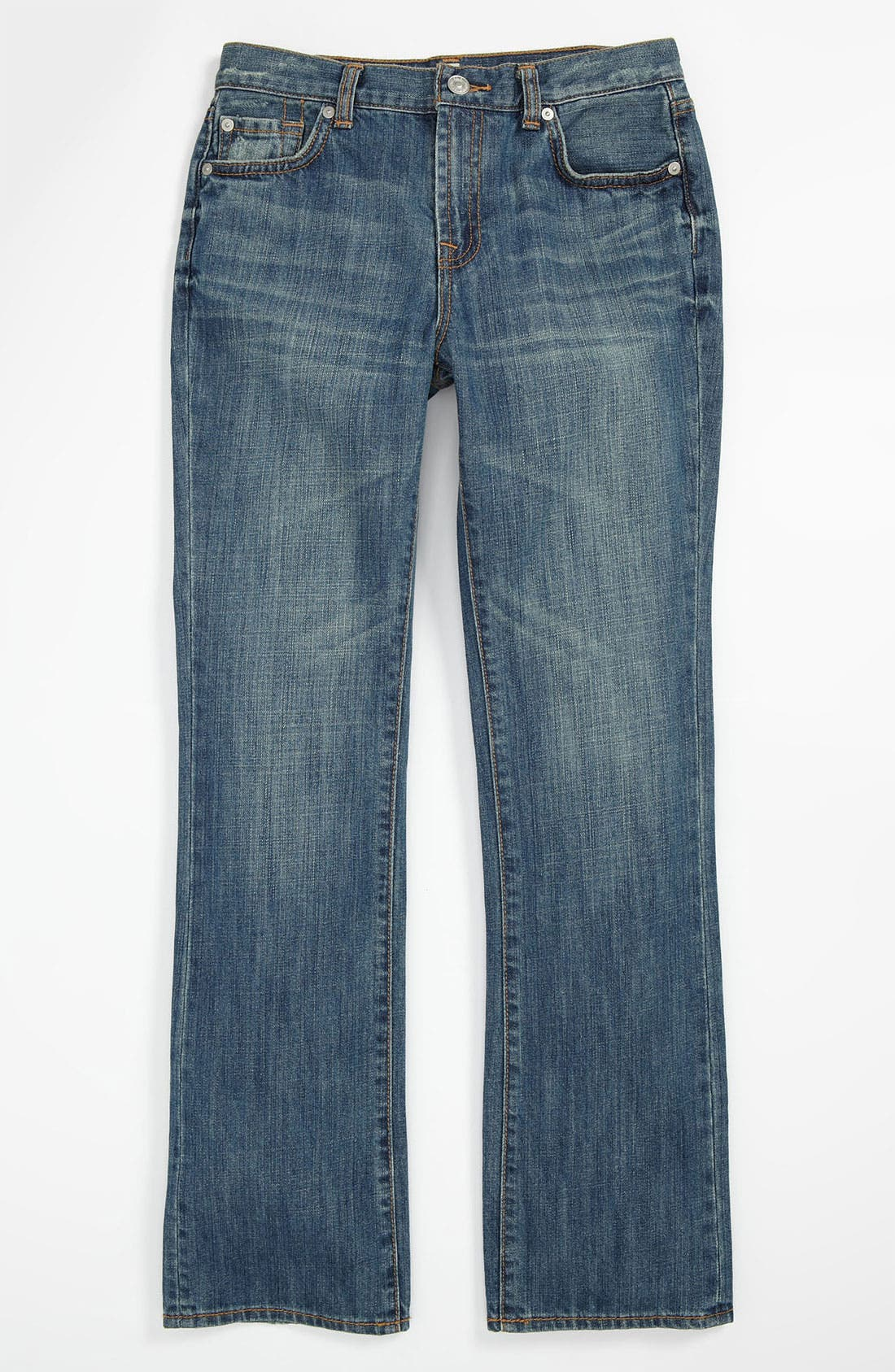 Alternate Image 2  - 7 For All Mankind® 'Nate' Slim Bootcut Jeans (Little Boys)