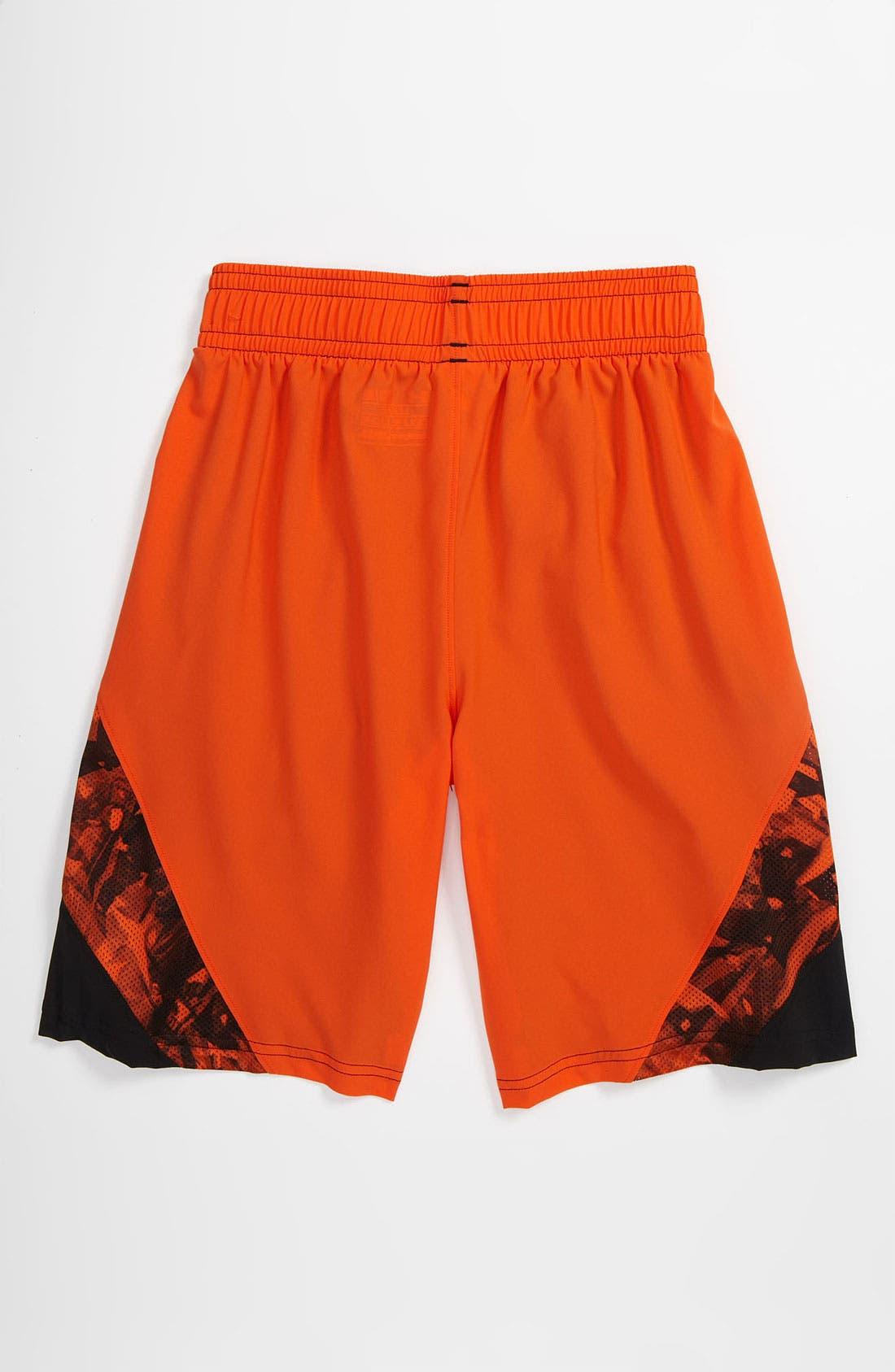 Alternate Image 2  - Under Armour 'NFL Combine' Shorts (Big Boys)
