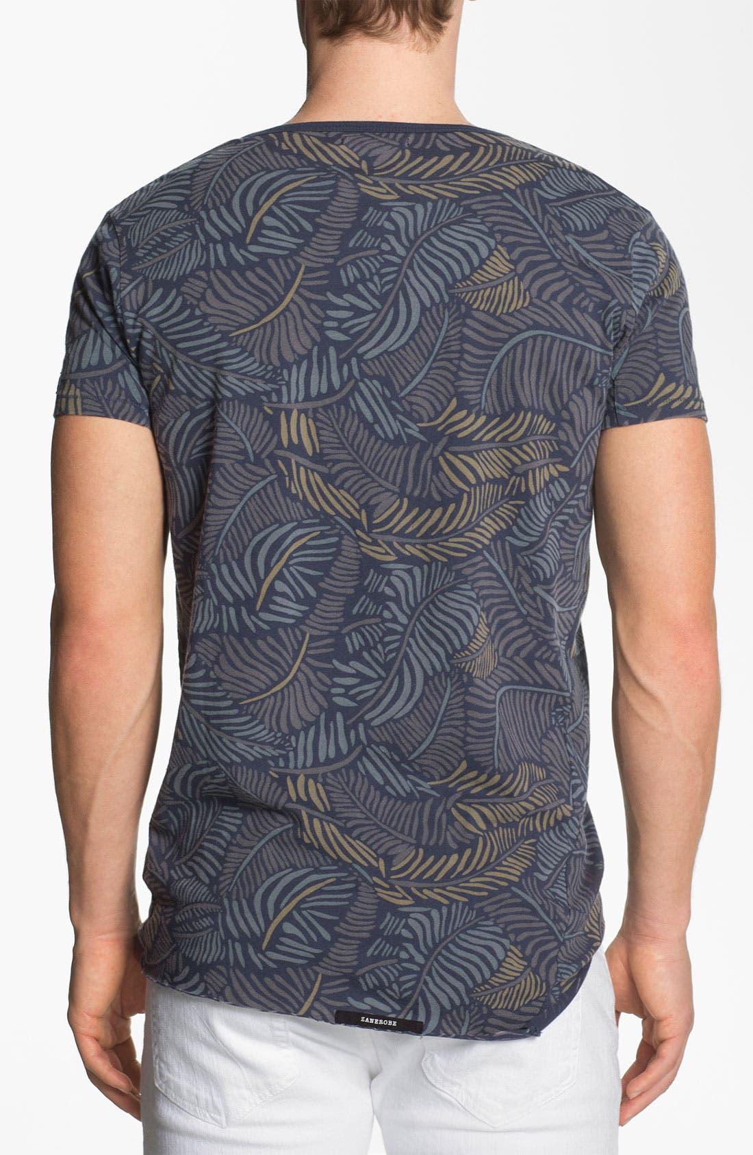 Alternate Image 3  - Zanerobe 'Poleho' Allover Print Pocket T-Shirt