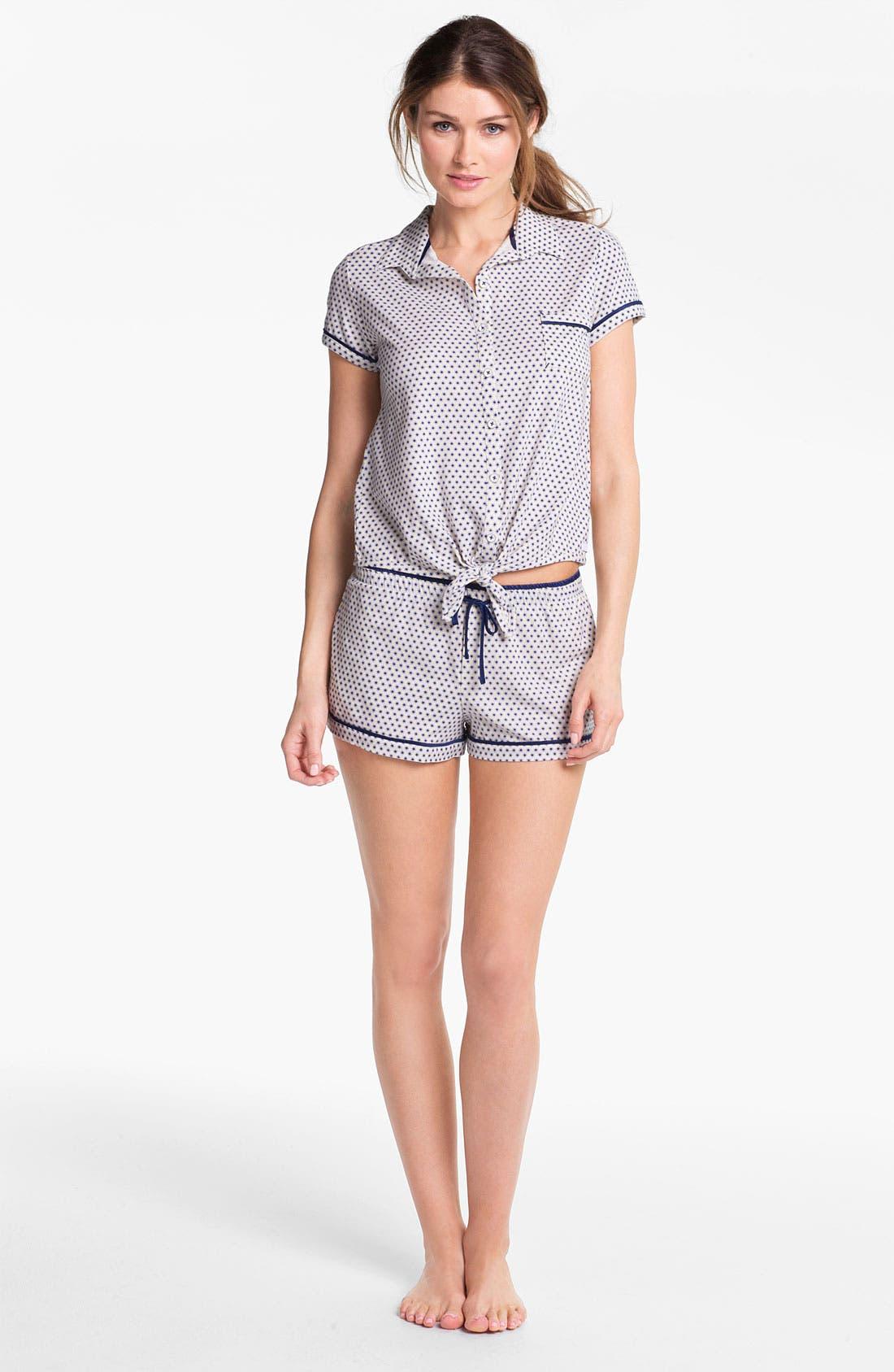 Alternate Image 3  - Kensie 'Surf Lodge' Pajama Top