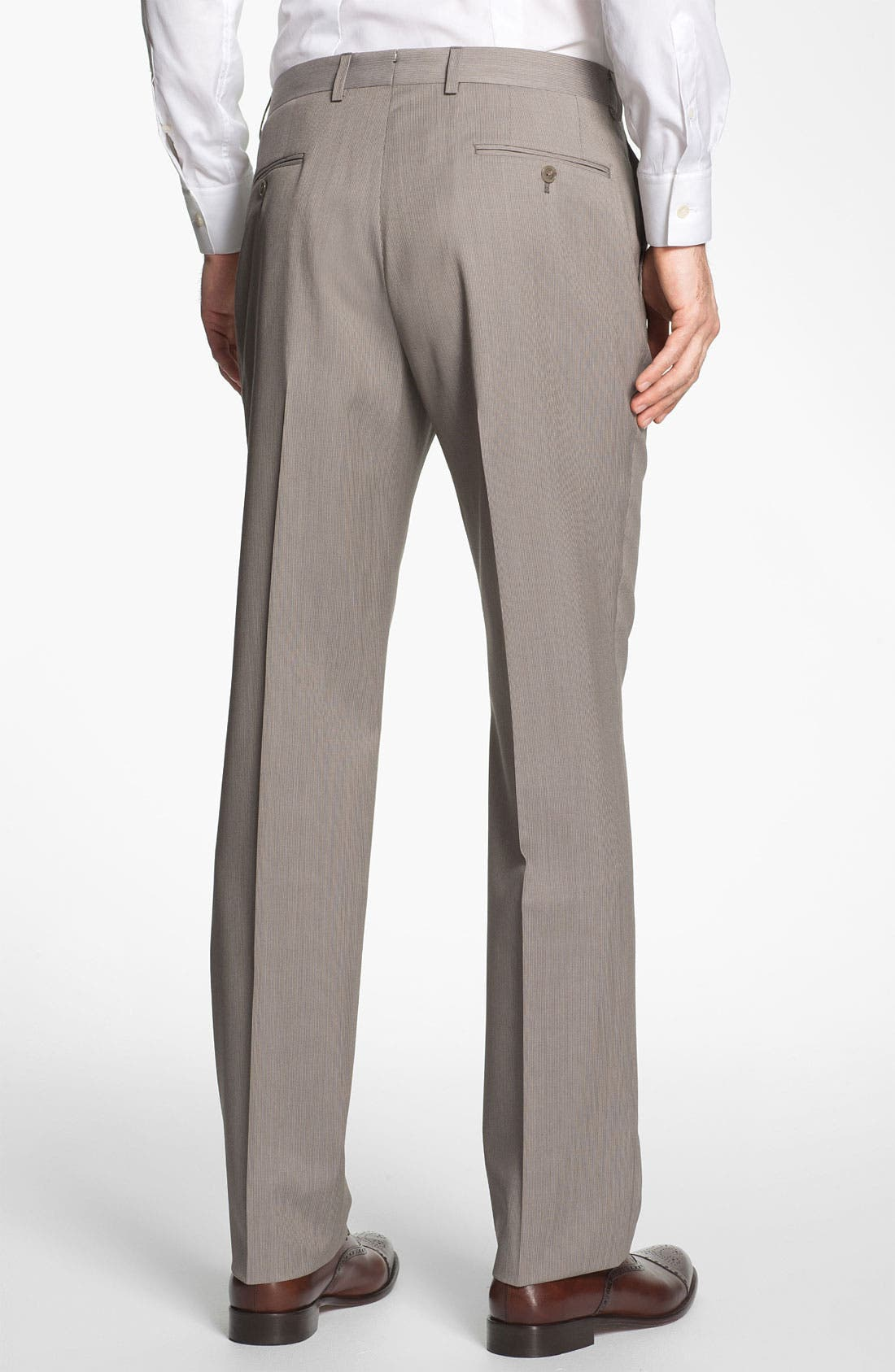 Alternate Image 5  - Michael Kors Trim Fit Wool Suit