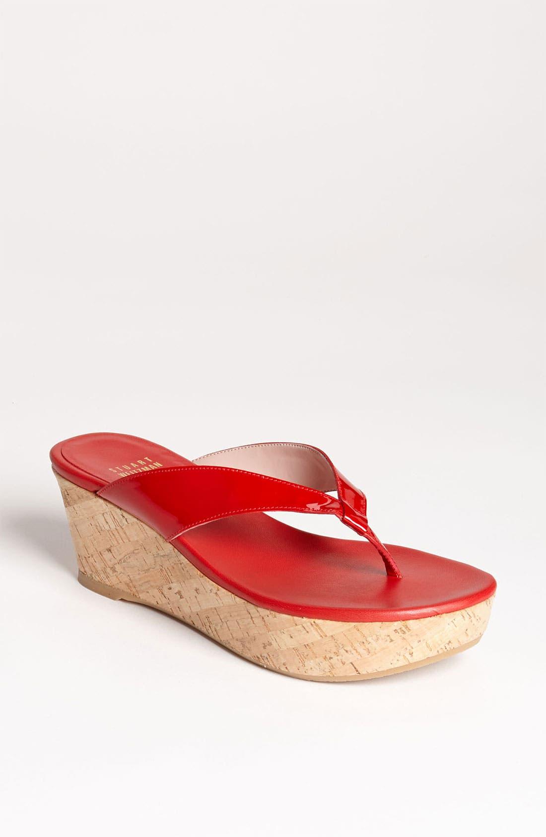 Alternate Image 1 Selected - Stuart Weitzman 'Clasp' Sandal