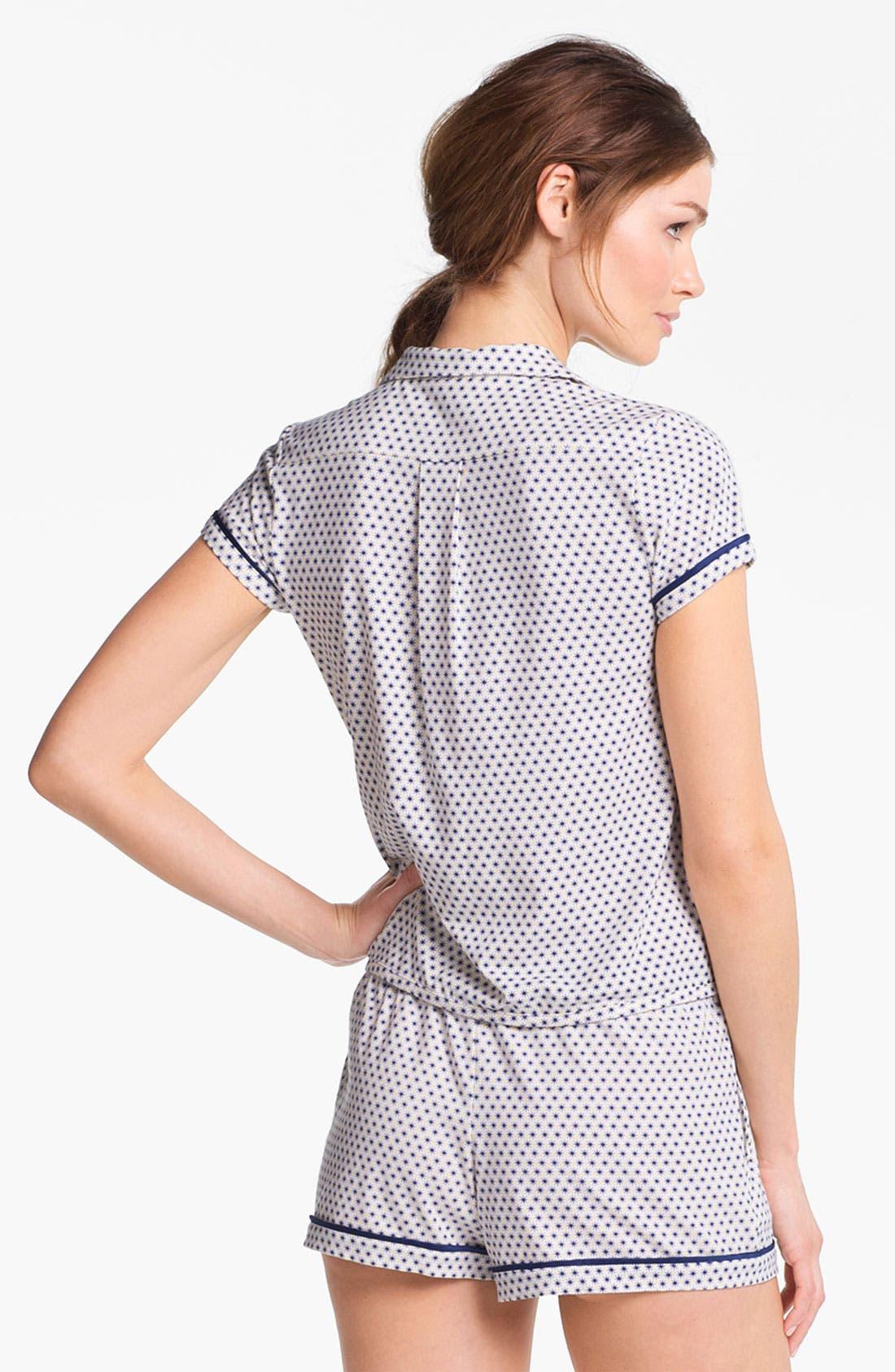 Alternate Image 2  - Kensie 'Surf Lodge' Pajama Top