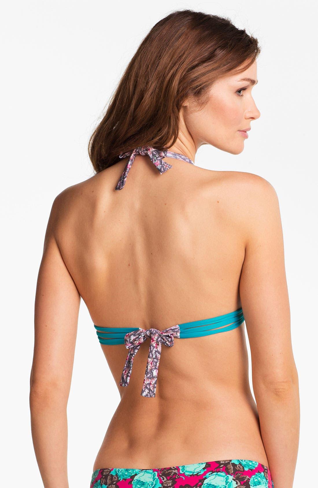 Alternate Image 2  - Maaji 'Floral Flavors' Reversible Bikini Top