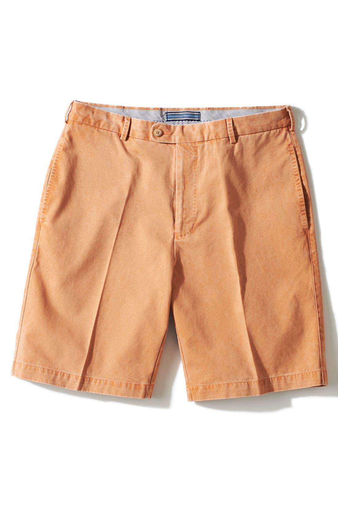 Alternate Image 3  - Peter Millar Washed Twill Shorts
