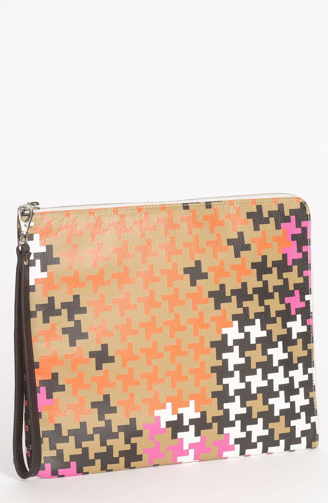 Alternate Image 1 Selected - Yarnz 'Camo Houndstooth' Wristlet Clutch