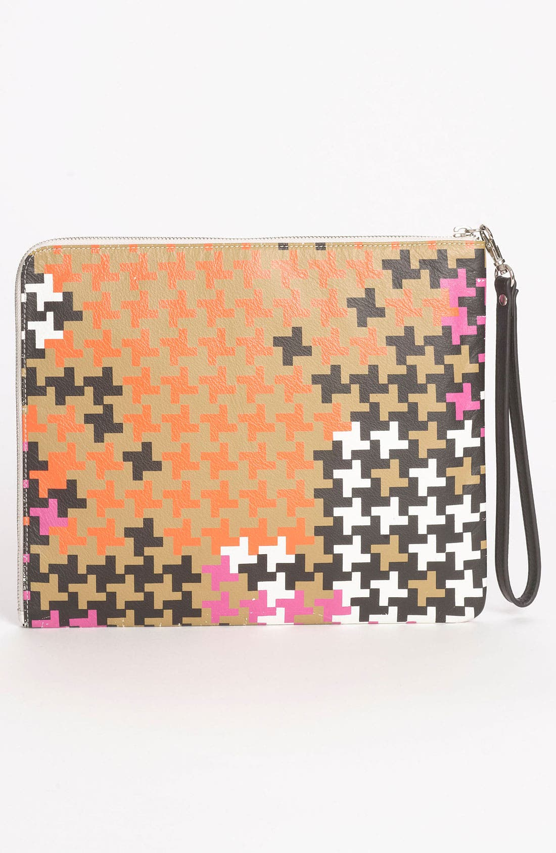 Alternate Image 4  - Yarnz 'Camo Houndstooth' Wristlet Clutch