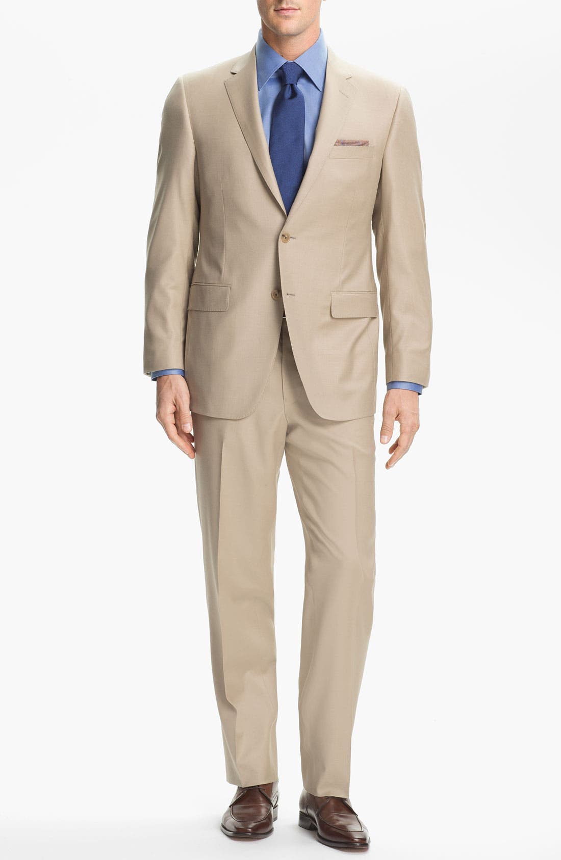 Alternate Image 2  - Samuelsohn 'Performance' Stretch Wool Suit