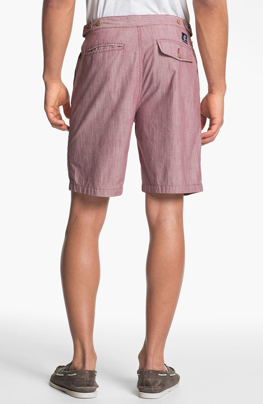 Alternate Image 2  - Jack O'Neill Flat Front Chambray Shorts