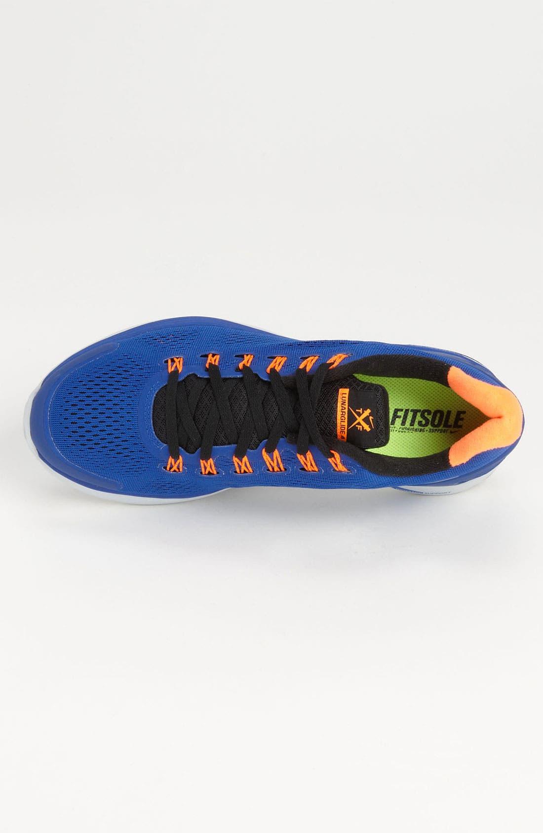 Alternate Image 3  - Nike 'LunarGlide+ 4' Running Shoe (Men)