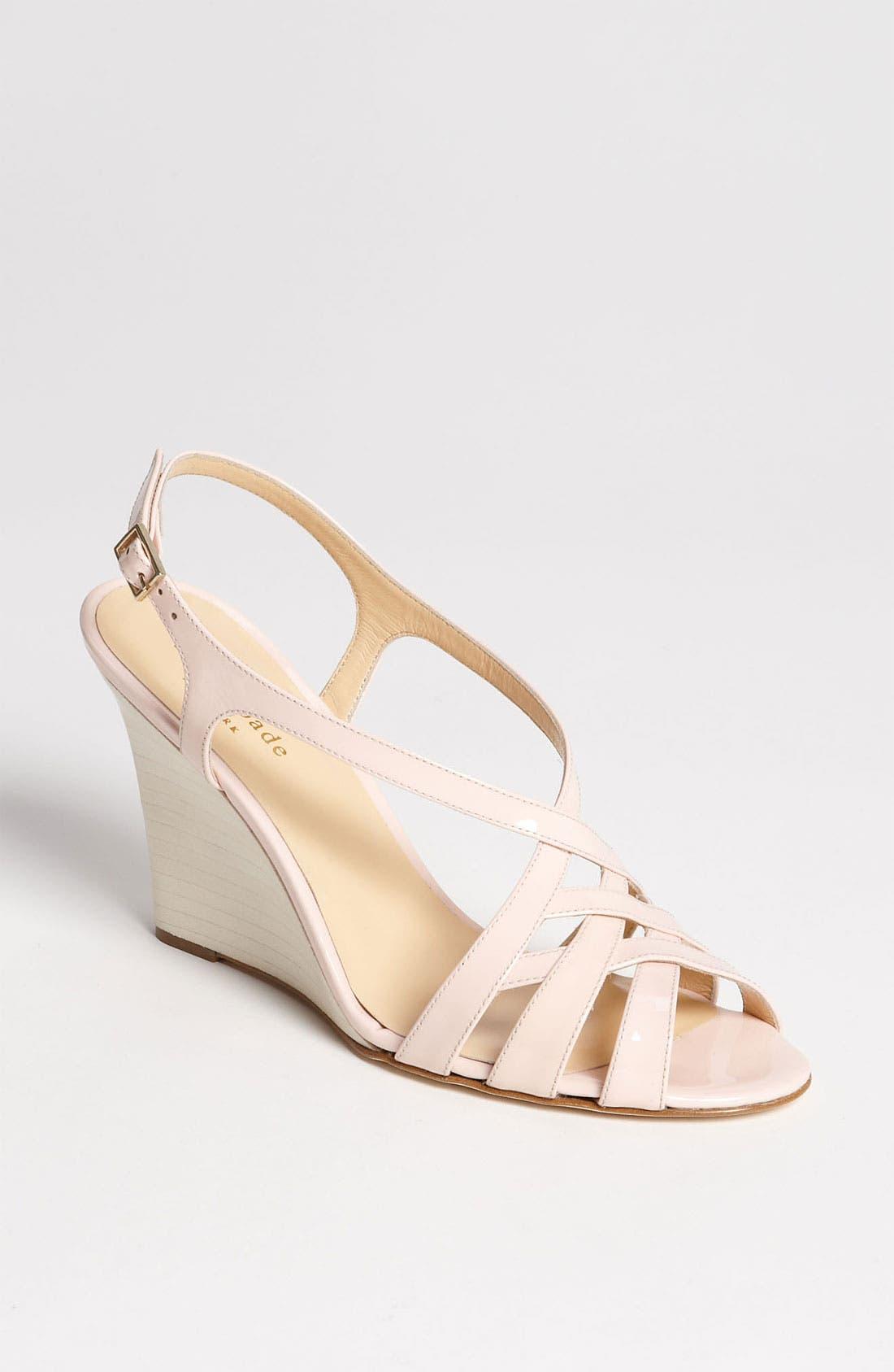 Alternate Image 1 Selected - kate spade new york 'illie' wedge sandal
