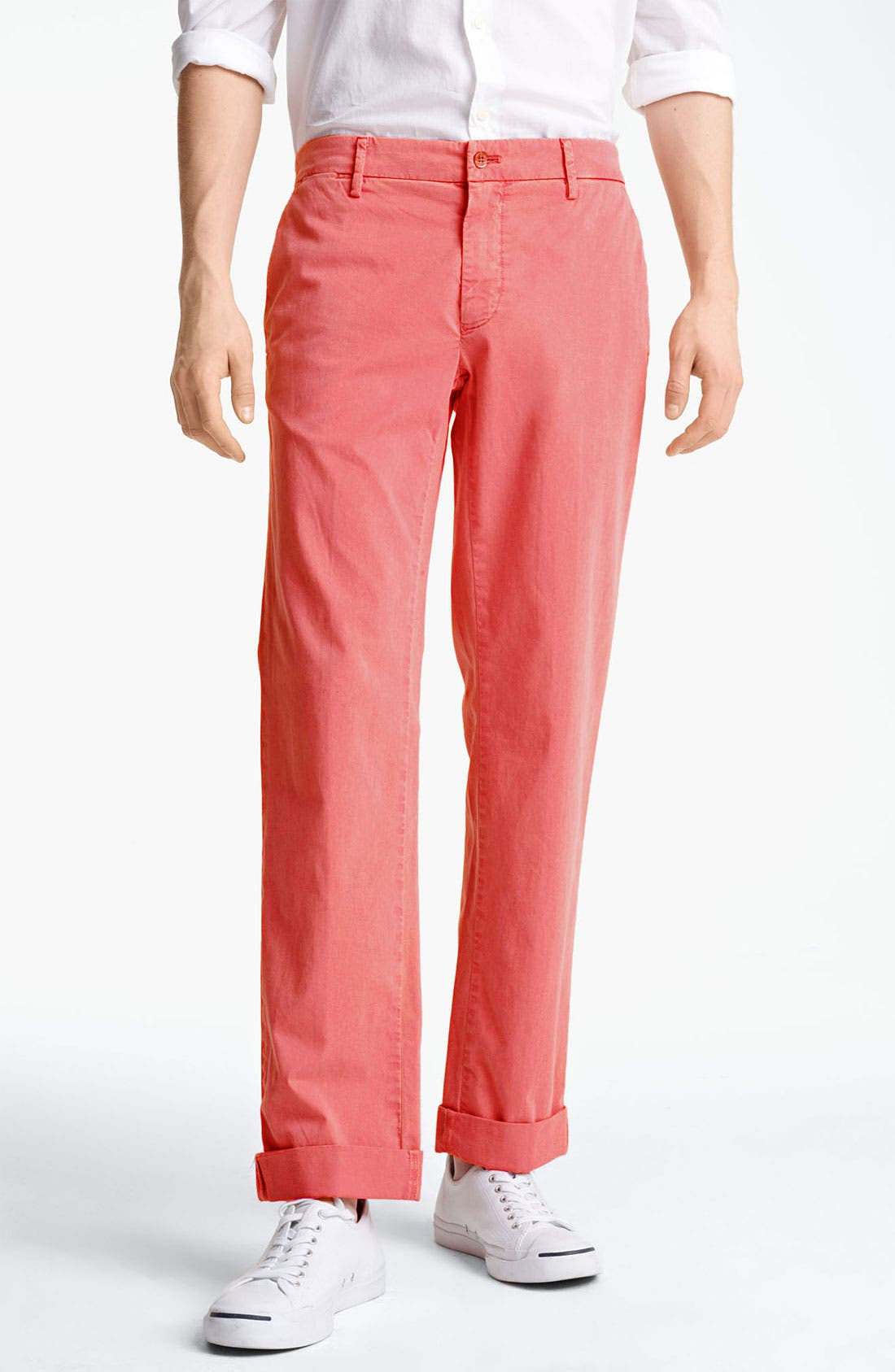 Alternate Image 1 Selected - Mason's New York Fit Cotton Chinos