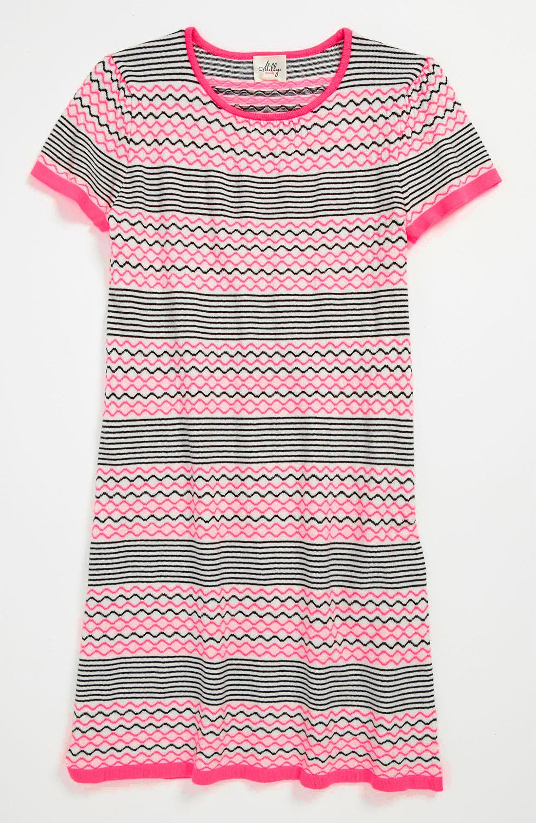 Alternate Image 1 Selected - Milly Minis Knit Dress (Little Girls & Big Girls)