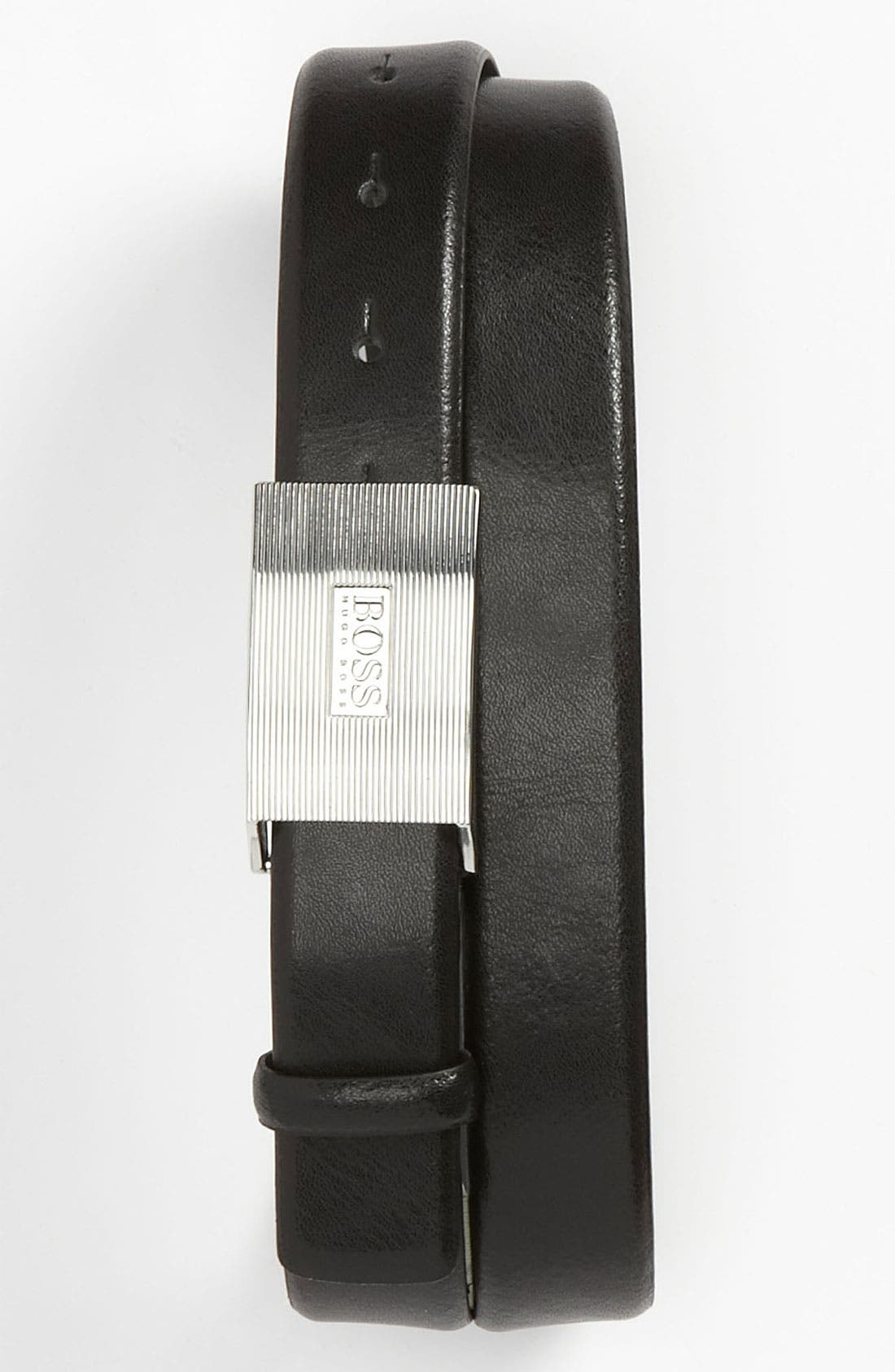 Alternate Image 1 Selected - BOSS Black 'Eusos' Belt