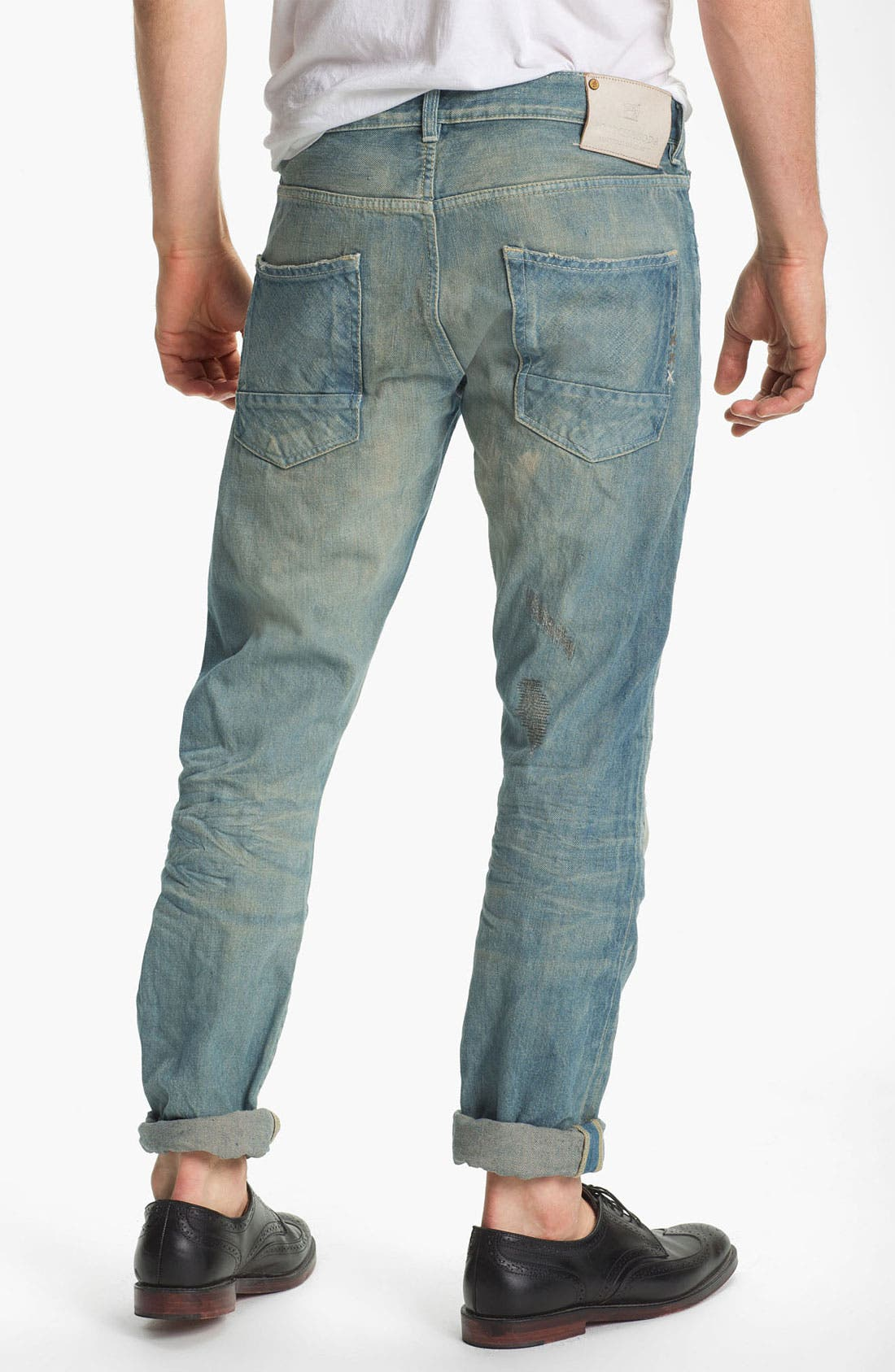 Alternate Image 1 Selected - Scotch & Soda 'Ralston' Slim Straight Leg Jeans (Time Capsule)