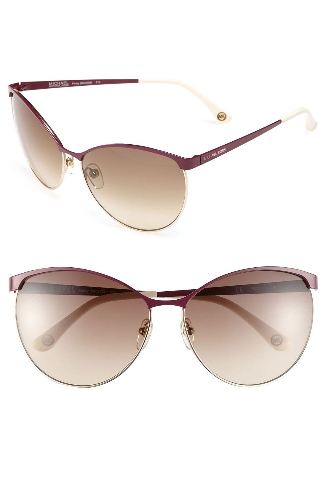 Alternate Image 1 Selected - MICHAEL Michael Kors 62mm Retro Sunglasses