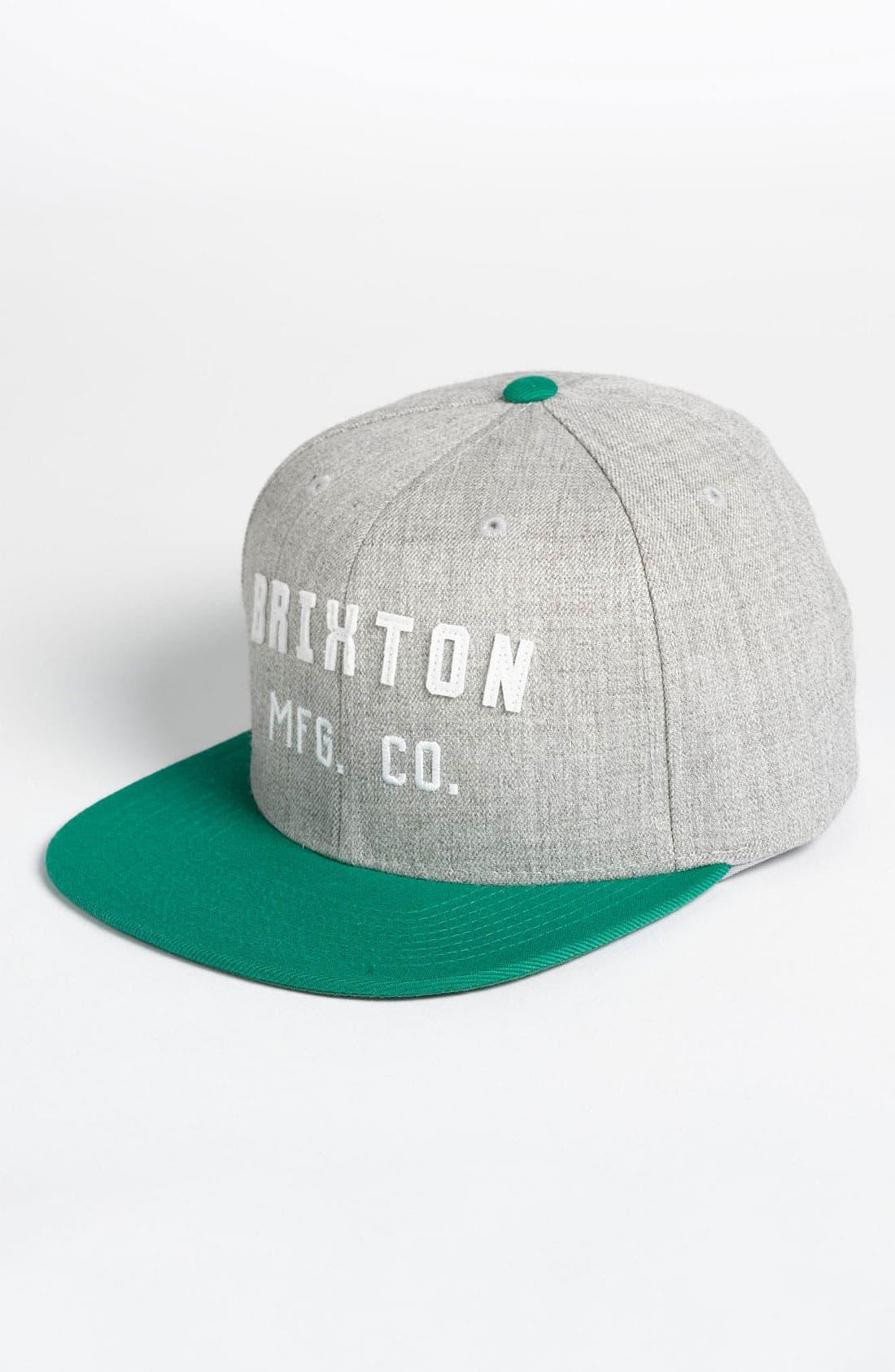 Alternate Image 1 Selected - Brixton 'Arden' Snapback Cap