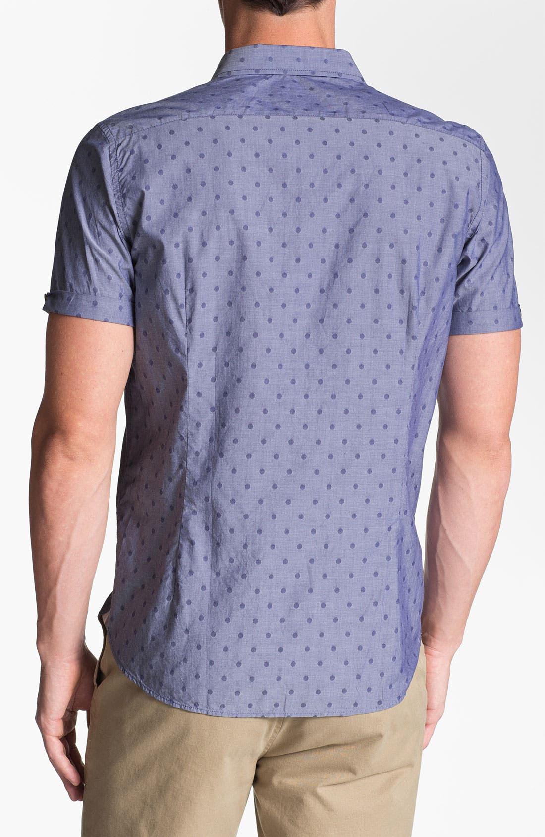 Alternate Image 2  - Ted Baker London 'Metrosp Dobby' Regular Fit Short Sleeve Sport Shirt