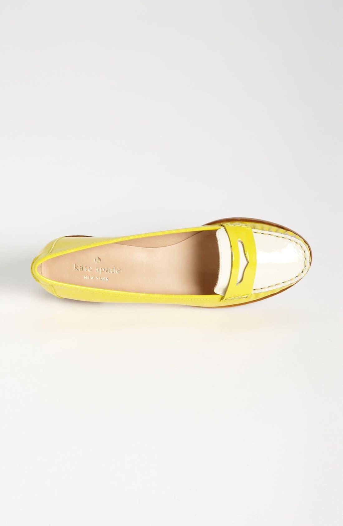 Alternate Image 3  - kate spade new york 'cody' loafer