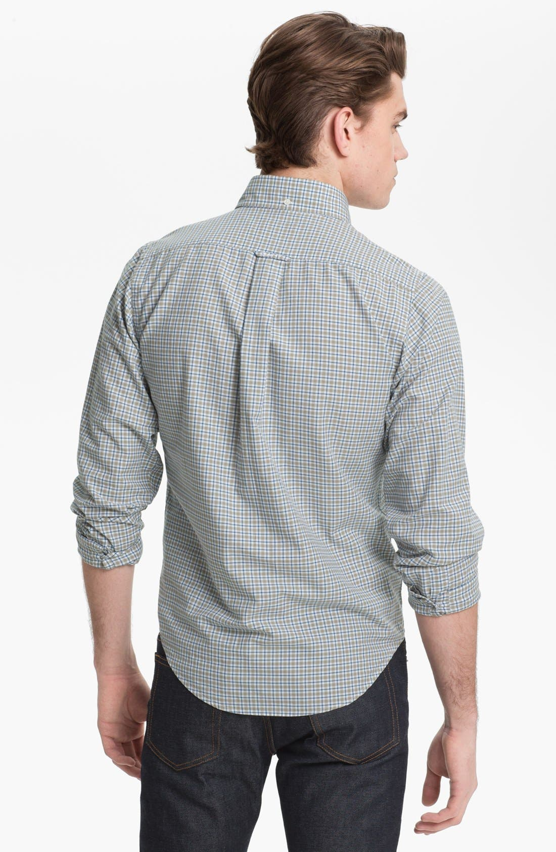 Alternate Image 2  - Gant by Michael Bastian Tattersall Check Sport Shirt