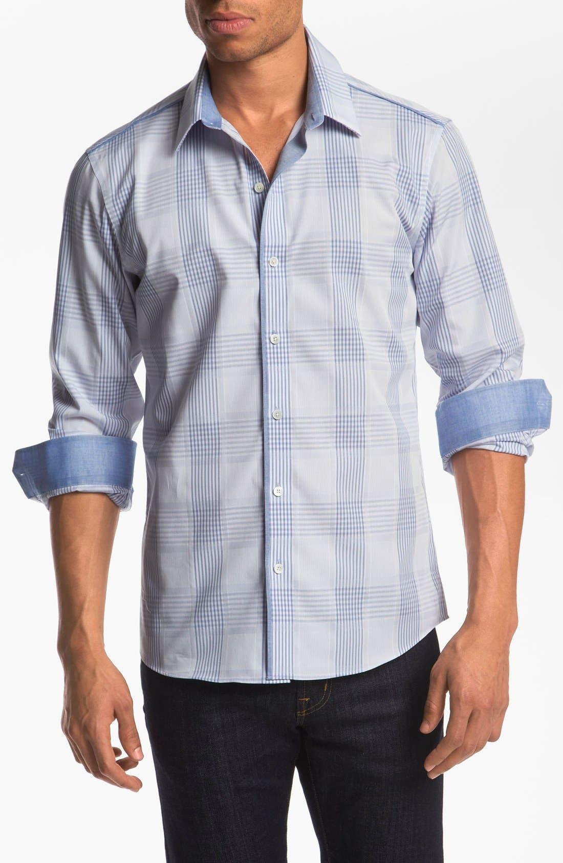 Main Image - Kenson Trim Fit Sport Shirt