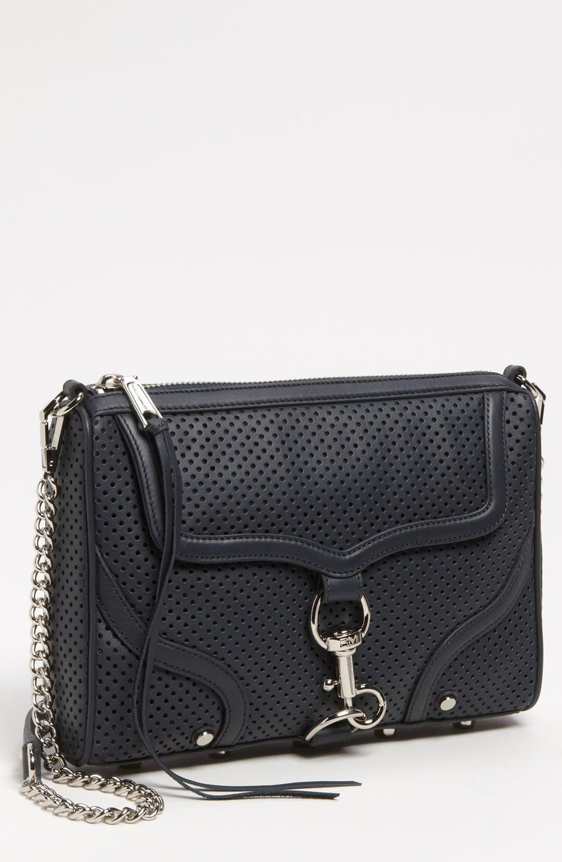 Alternate Image 1 Selected - Rebecca Minkoff 'MAC - Bombe' Leather Crossbody Clutch