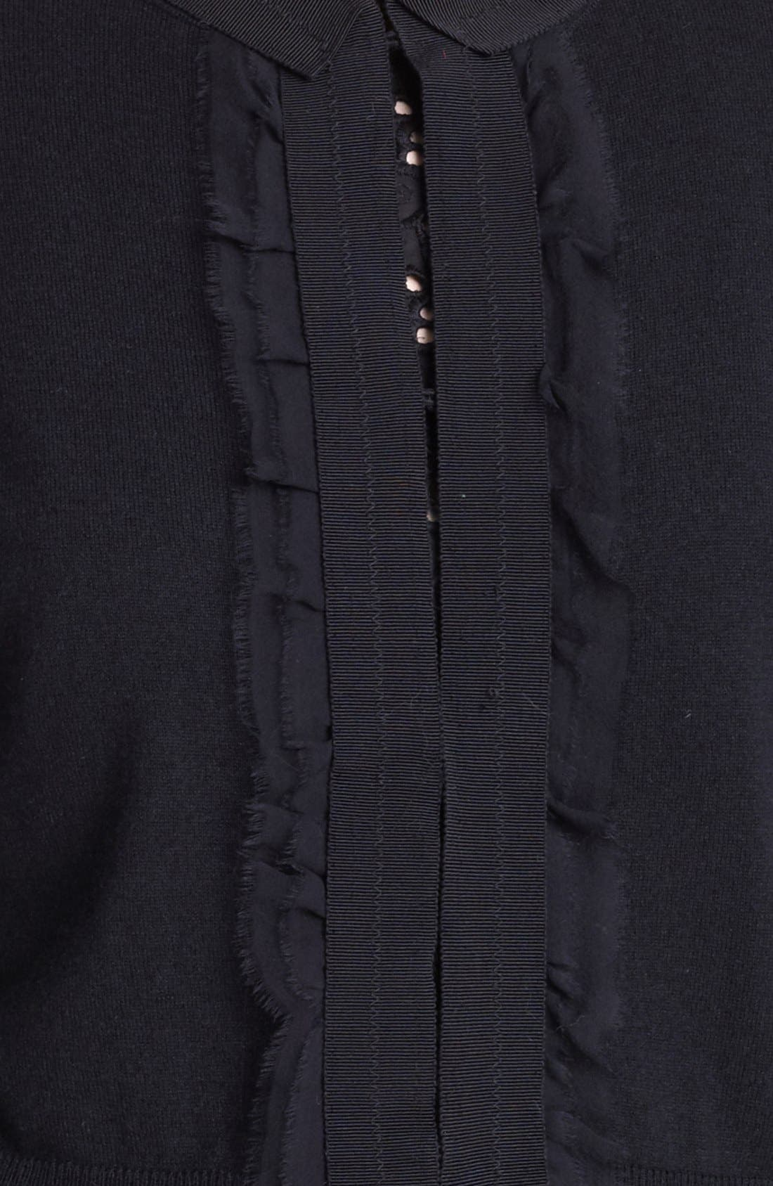 Alternate Image 3  - Max Mara 'Oreste' Crop Cashmere & Silk Cardigan