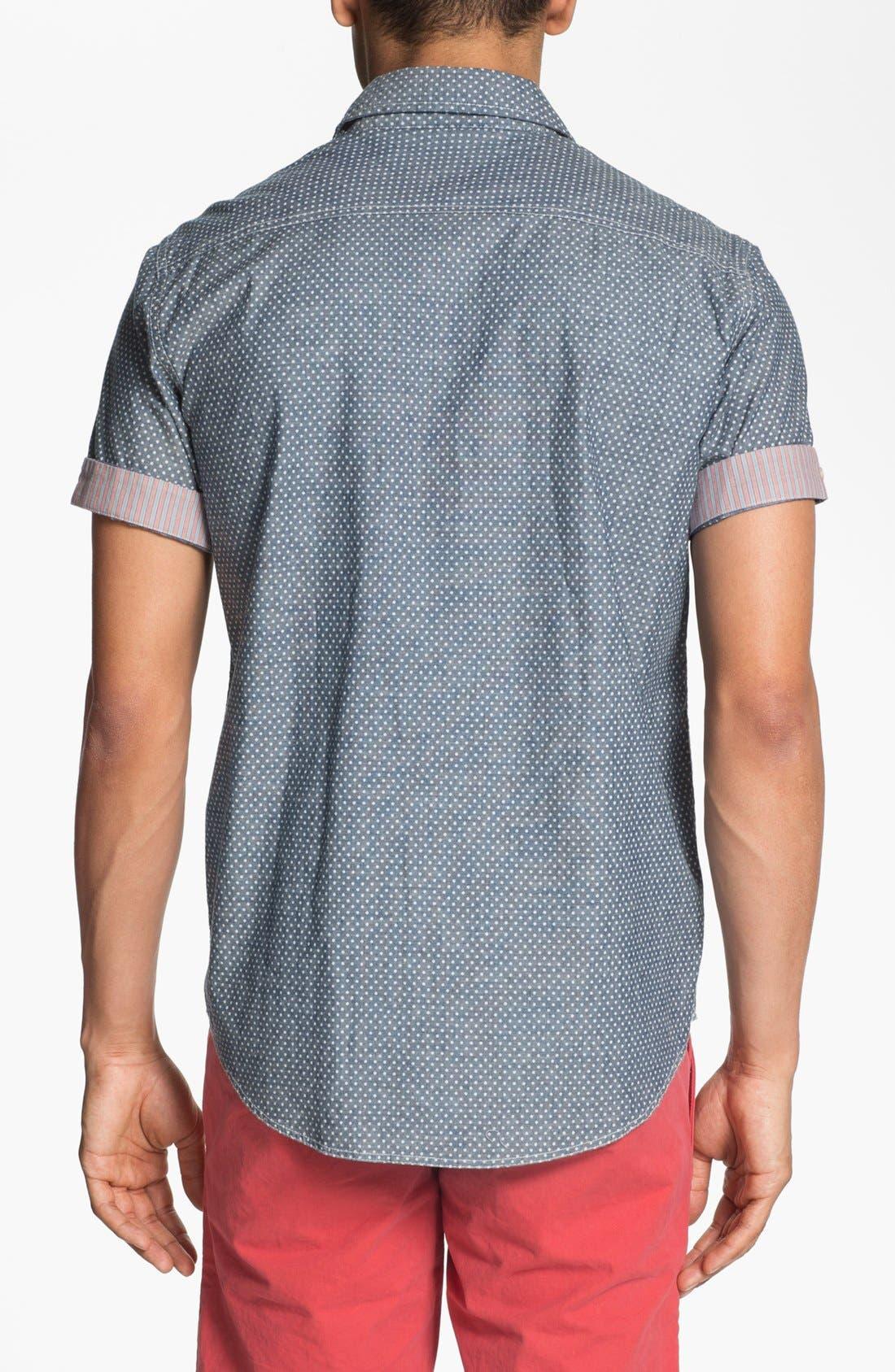 Alternate Image 2  - Just A Cheap Shirt Slim Fit Sport Shirt