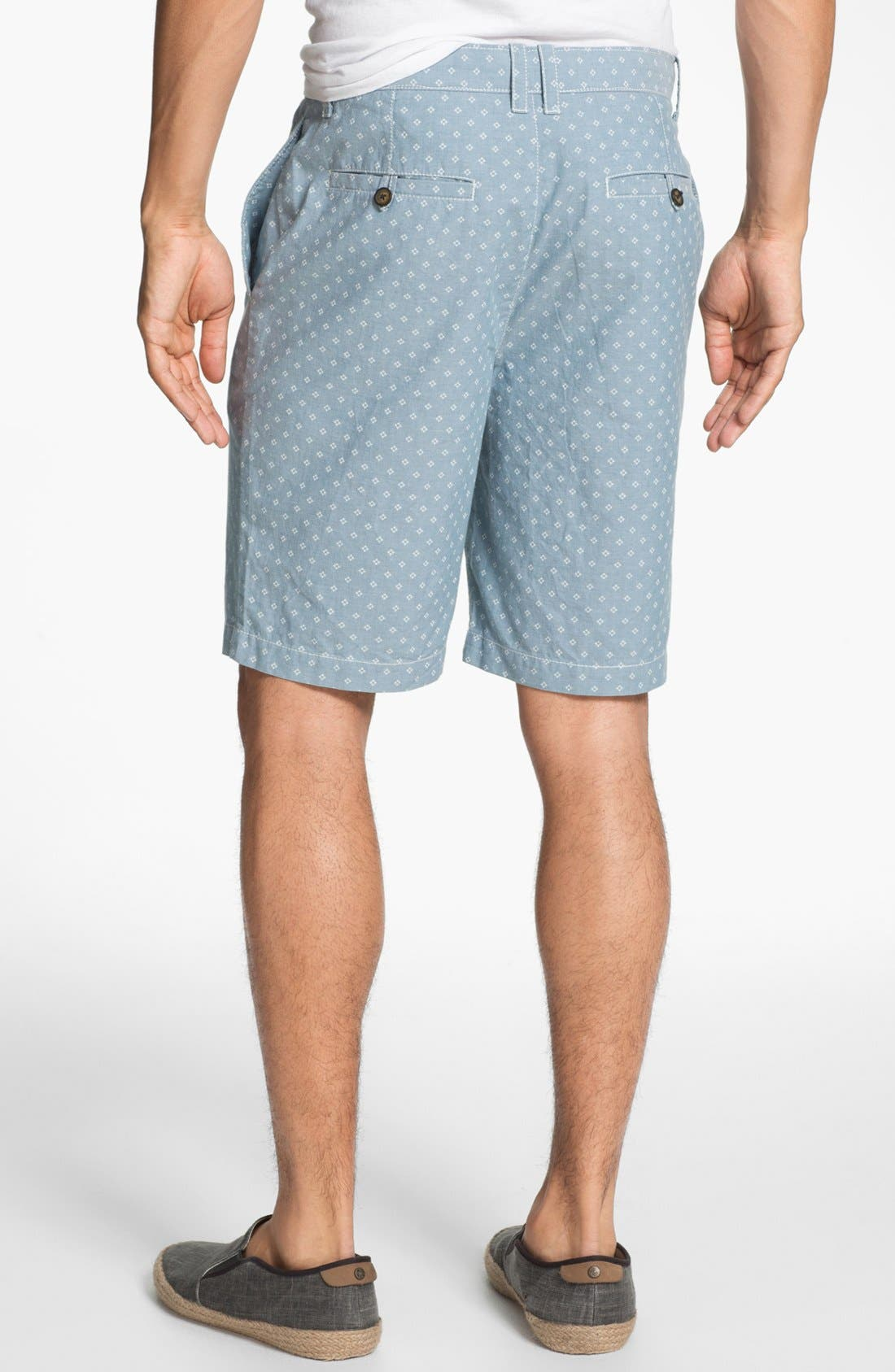 Alternate Image 2  - Original Penguin Floral Print Oxford Shorts