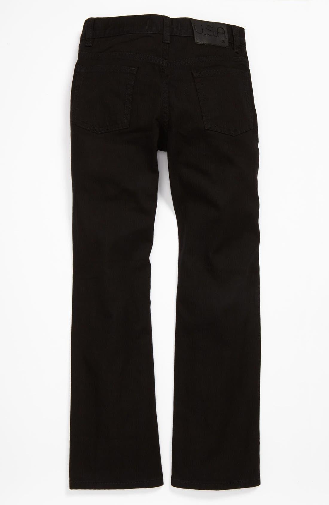 Main Image - John Varvatos Star USA Straight Leg Jeans (Big Boys)