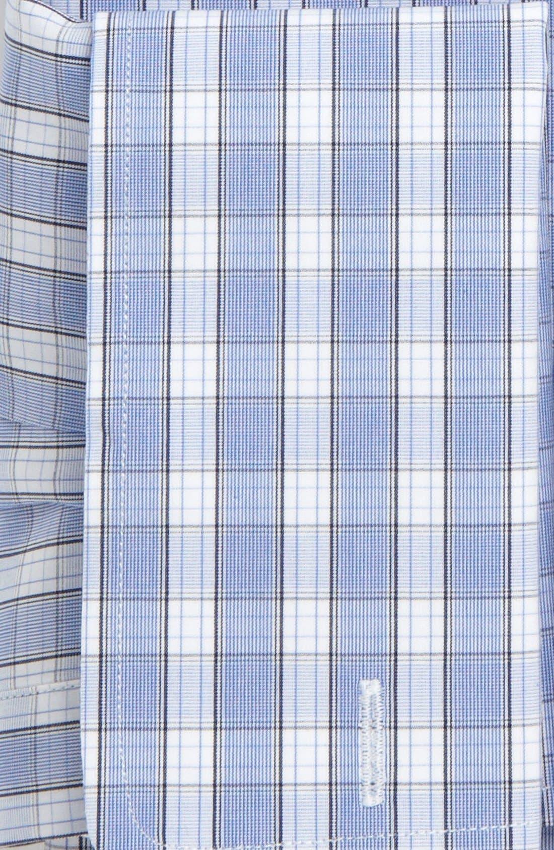 Alternate Image 3  - David Donahue Trim Fit Dress Shirt